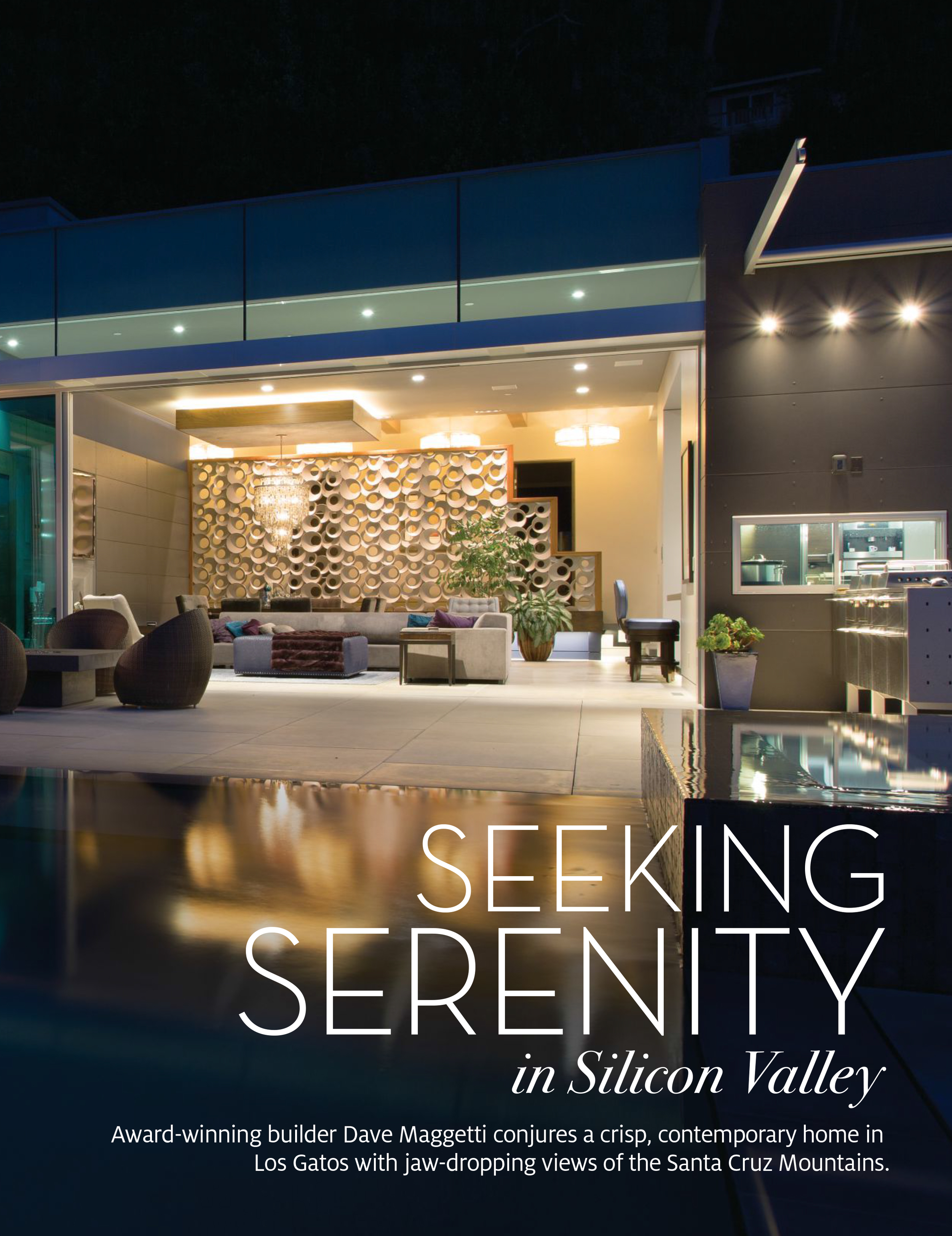 Fuse Architecture Press - Gentry Home Magazine, Teresita Residence inside spread