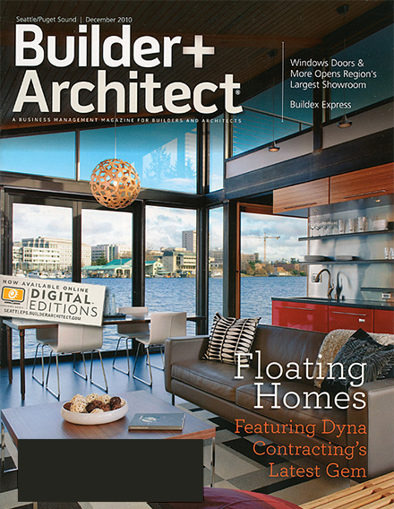 Fuse Architecture Press - Builder + Architect Magazine cover