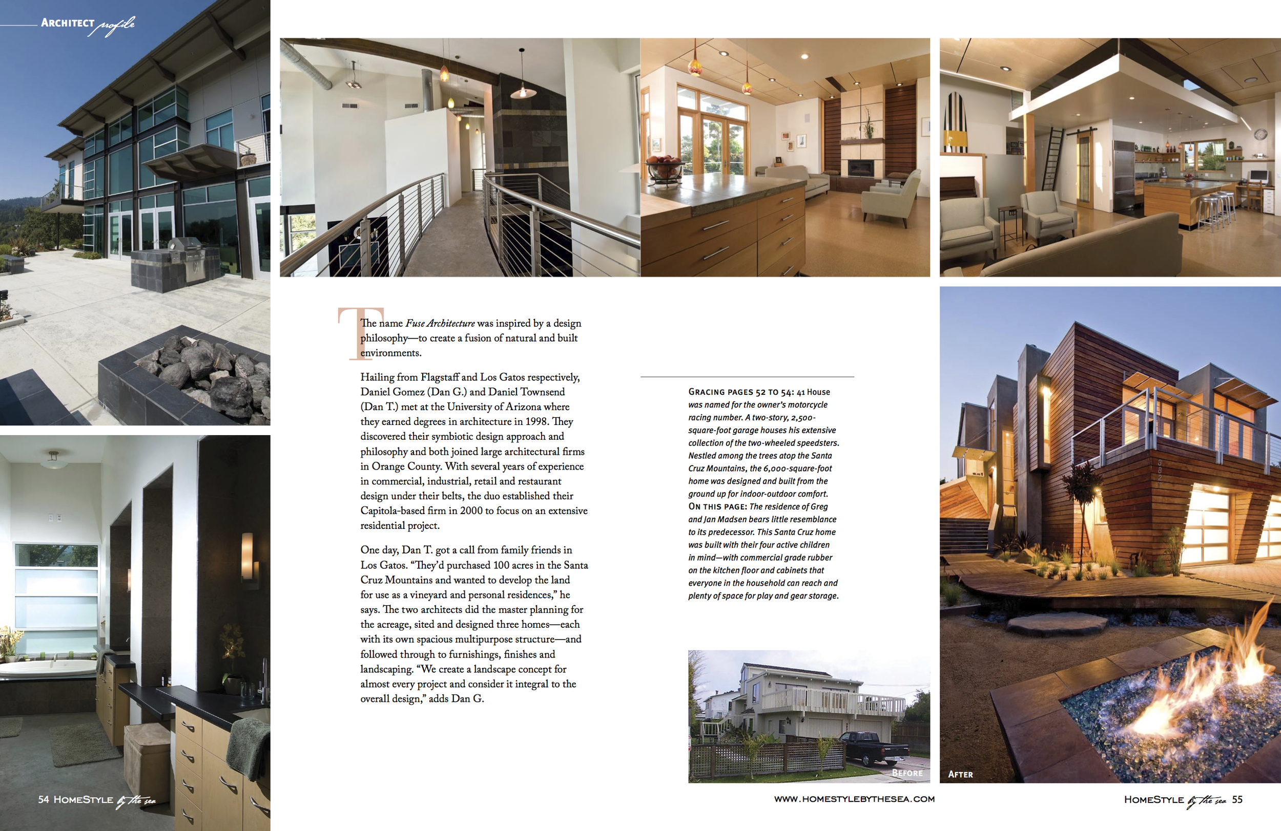 Fuse Architecture Press - Builder + Architect Magazine inside spread 1