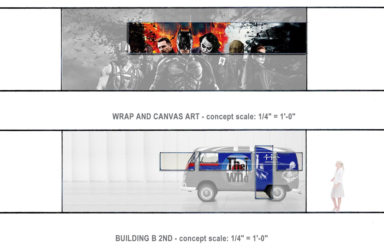 Roku Headquarters - Wrap and Canvas Art Concept