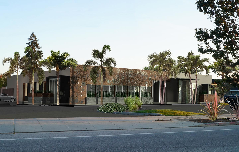 Advanced Extrusions Exterior Building Design - Santa Cruz, CA