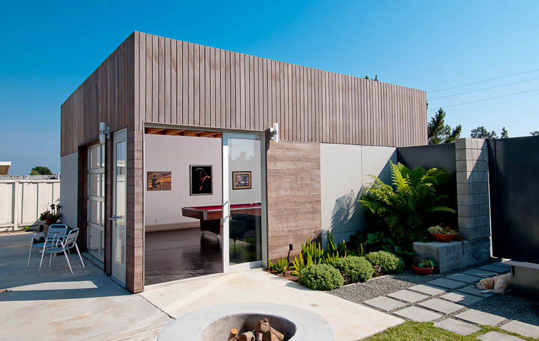 Pinehurst Residence - Custom Home Design - Aptos, CA - Pool House