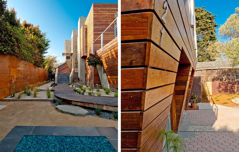 Moana Residence Exterior Wood Paneling
