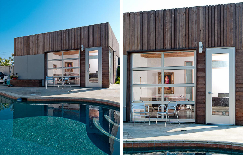 Pinehurst Residence - Aptos, CA - Exterior - Pool and Patio