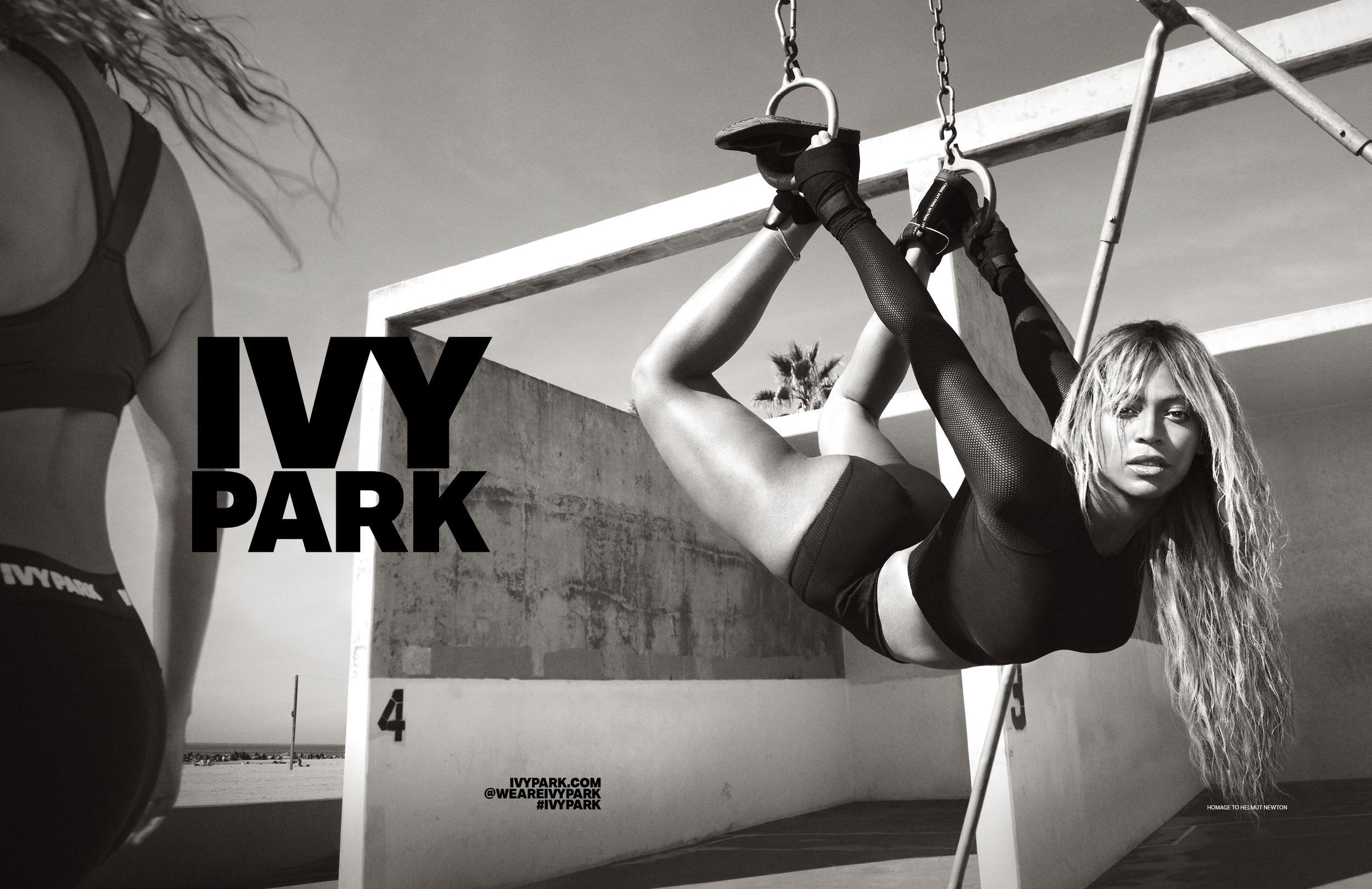 Ivy Park SS16 by Glen Luchford