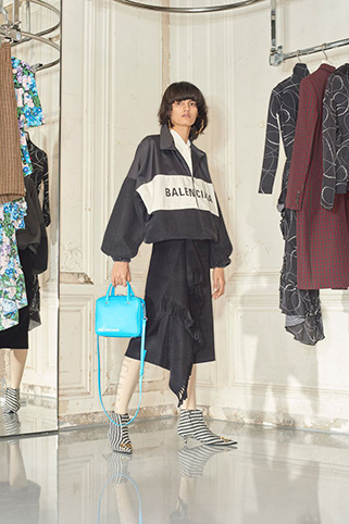 Balenciaga Pre-Fall Lookbook SS18 by Johnny Dufort