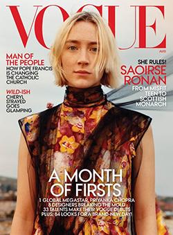 American Vogue August 2018 x Jamie Hawkesworth