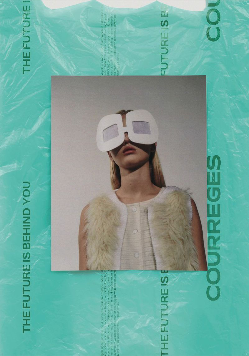 Courreges x Collier Schorr
