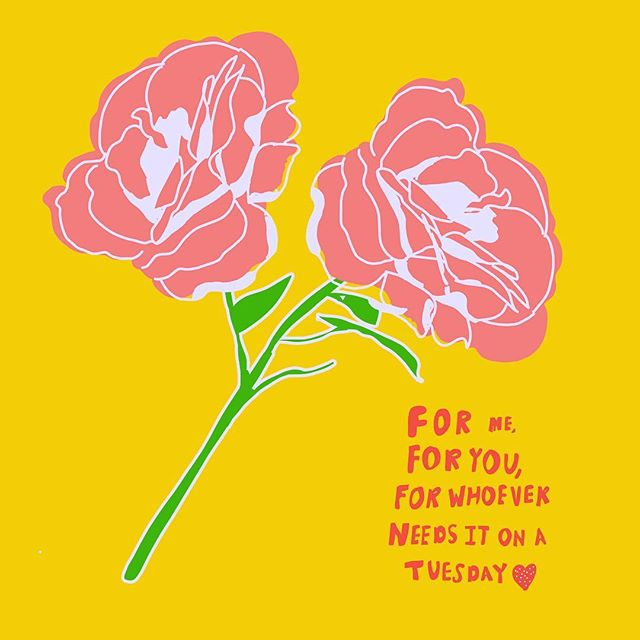It's Tuesday, it's raining and I can't wait for it to be a Friday already. . . . #flowers #illustration #illustrationoftheday #womenwithpencils #tuesdaymotivation #beautyillustration  #flowerpower #drawing #womenwhodraw