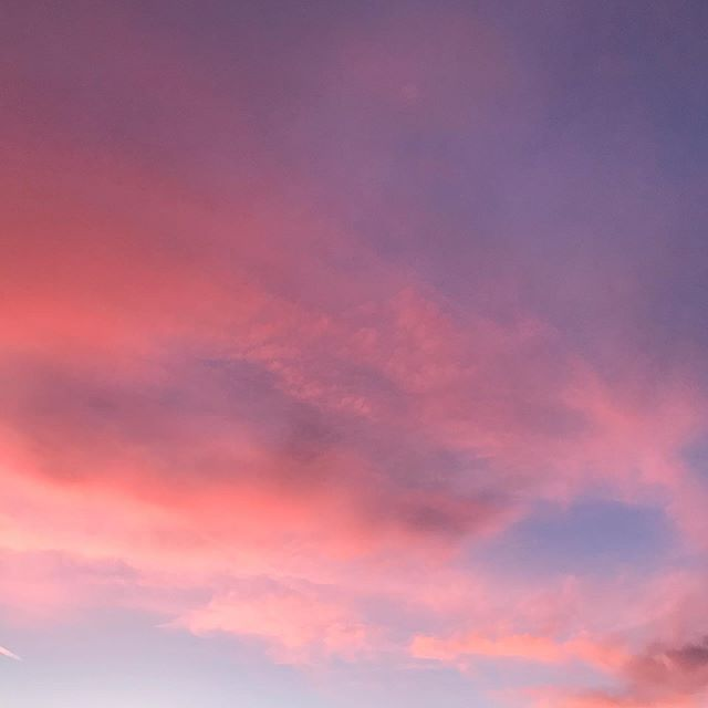 PDX cotton candy sky.  Too good not to share. . . . #pdxdesign #pdxsky