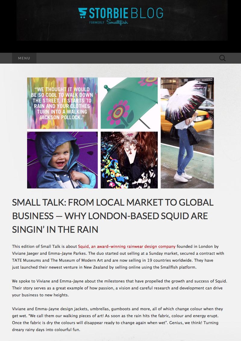May 2015 Storbie Blog