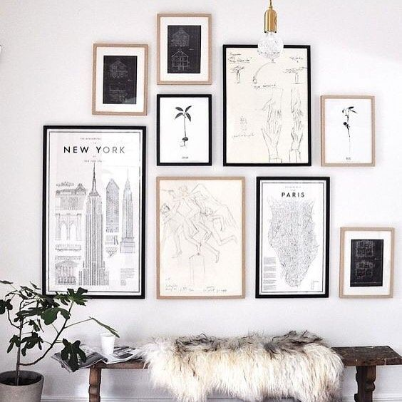 inCollective Gallery Wall