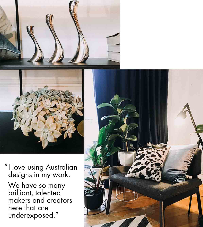 Eclectic living room design Darlinghurst interior design interior styling Sydney.jpg