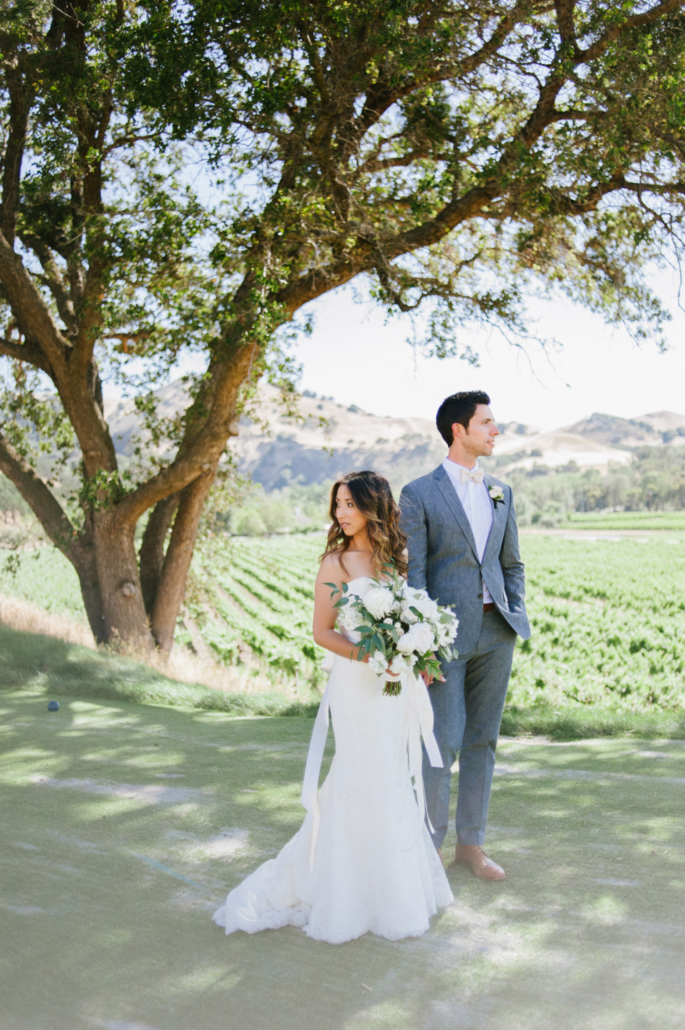 Crystalin & Mike - Sonoma, CAVenue: Wente VineyardsPlanning: Engaged & InspiredFloral: Huckleberry KarenFeatured: Style Me Pretty
