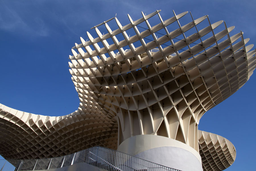 Spain, Sevilla, Metropol parasol
