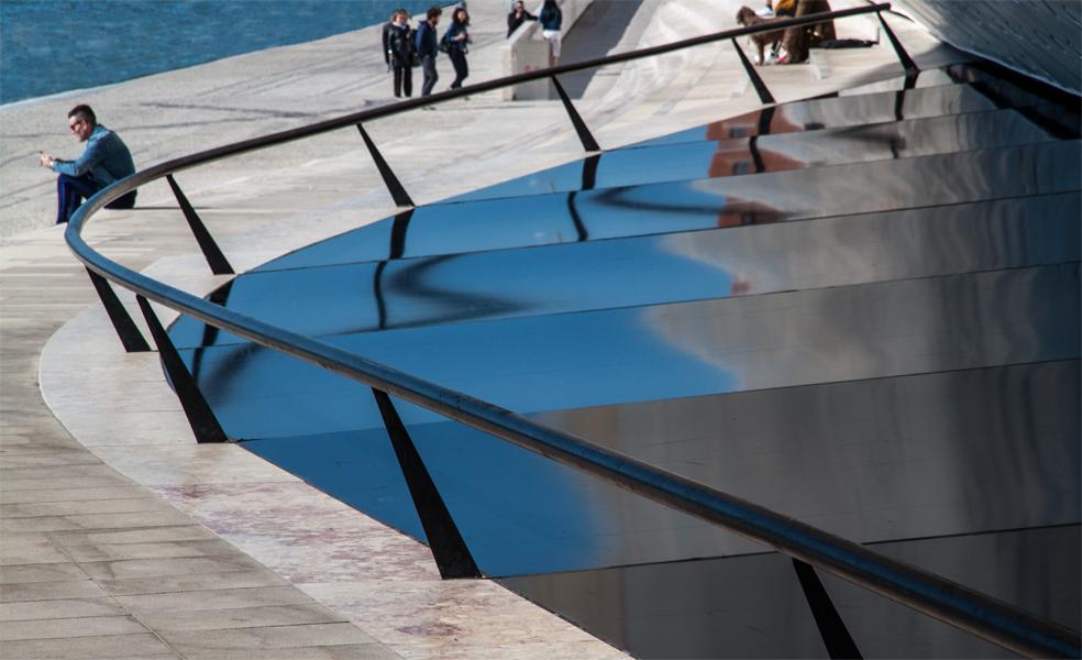 Portugal, Lisboa, MAAT museum