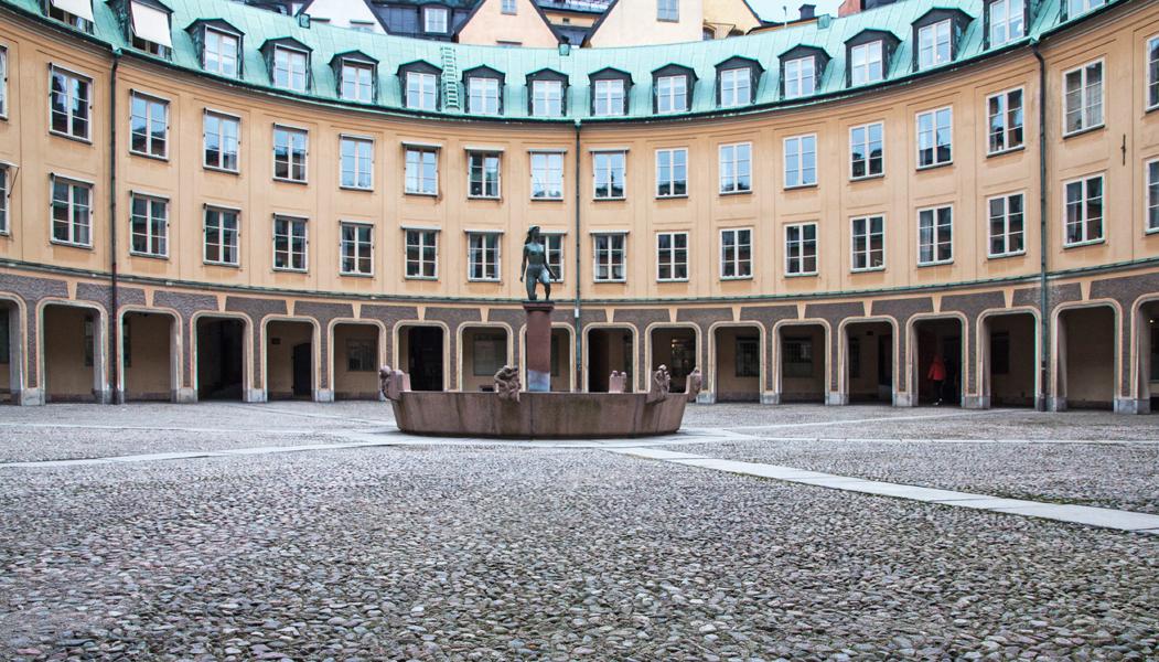 Sweden, Stockholm, Brantingtorget
