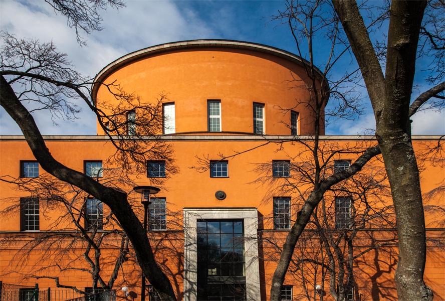 Sweden, Stockholm, Public Library