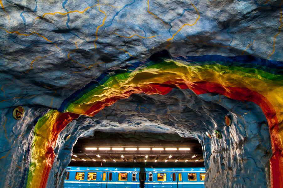 Sweden, Stockholm, Subway