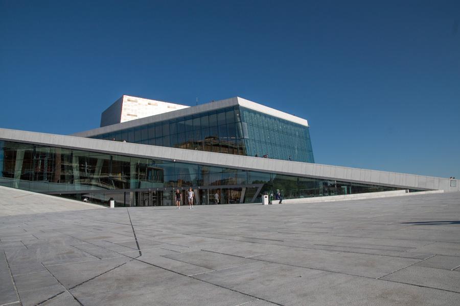 Norway, Oslo, Operahouse