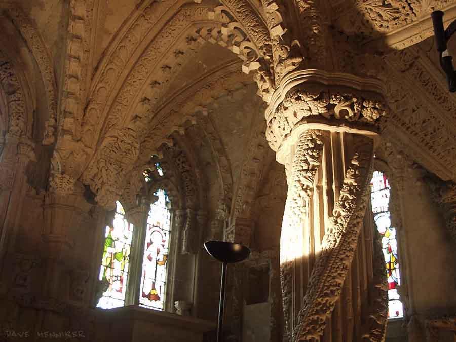 The Apprentice Pillar, Rosslyn Chapel