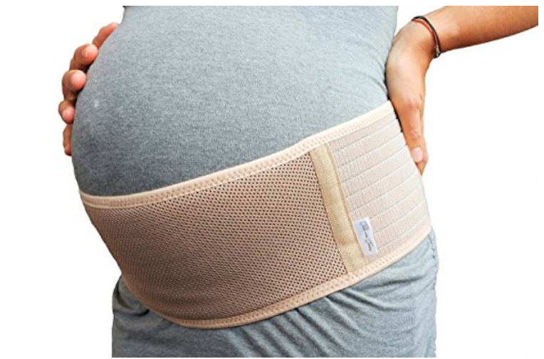 5. baby belly belt - I can only imagine the pressure or pain you may feel when the cute little baby bump grows into full term. The baby belt helps with hip + pelvic pain, improves posture, and alleviate symptoms associated with varicose veins.