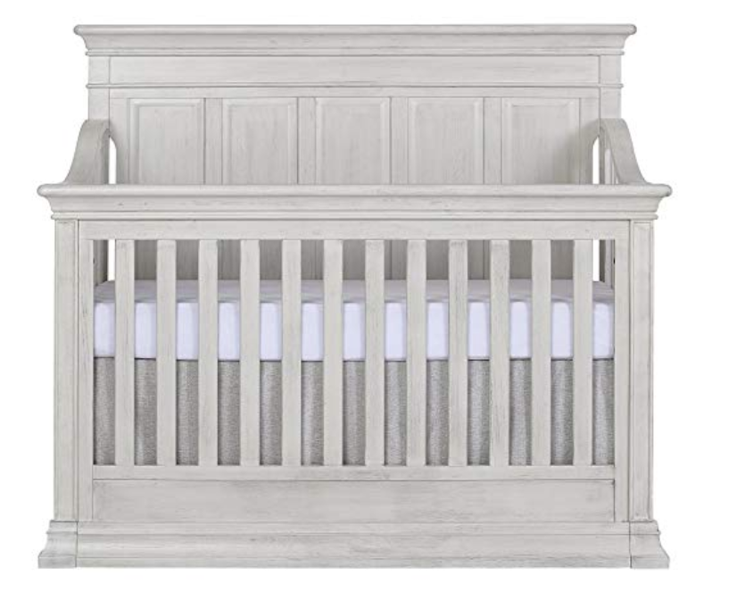 Copy of Convertible Crib, Antique Grey