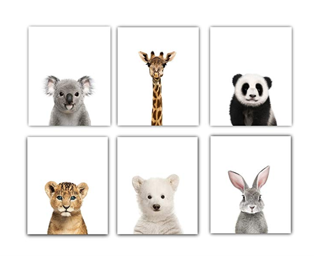 Copy of Baby Animals Nursery Wall Decor