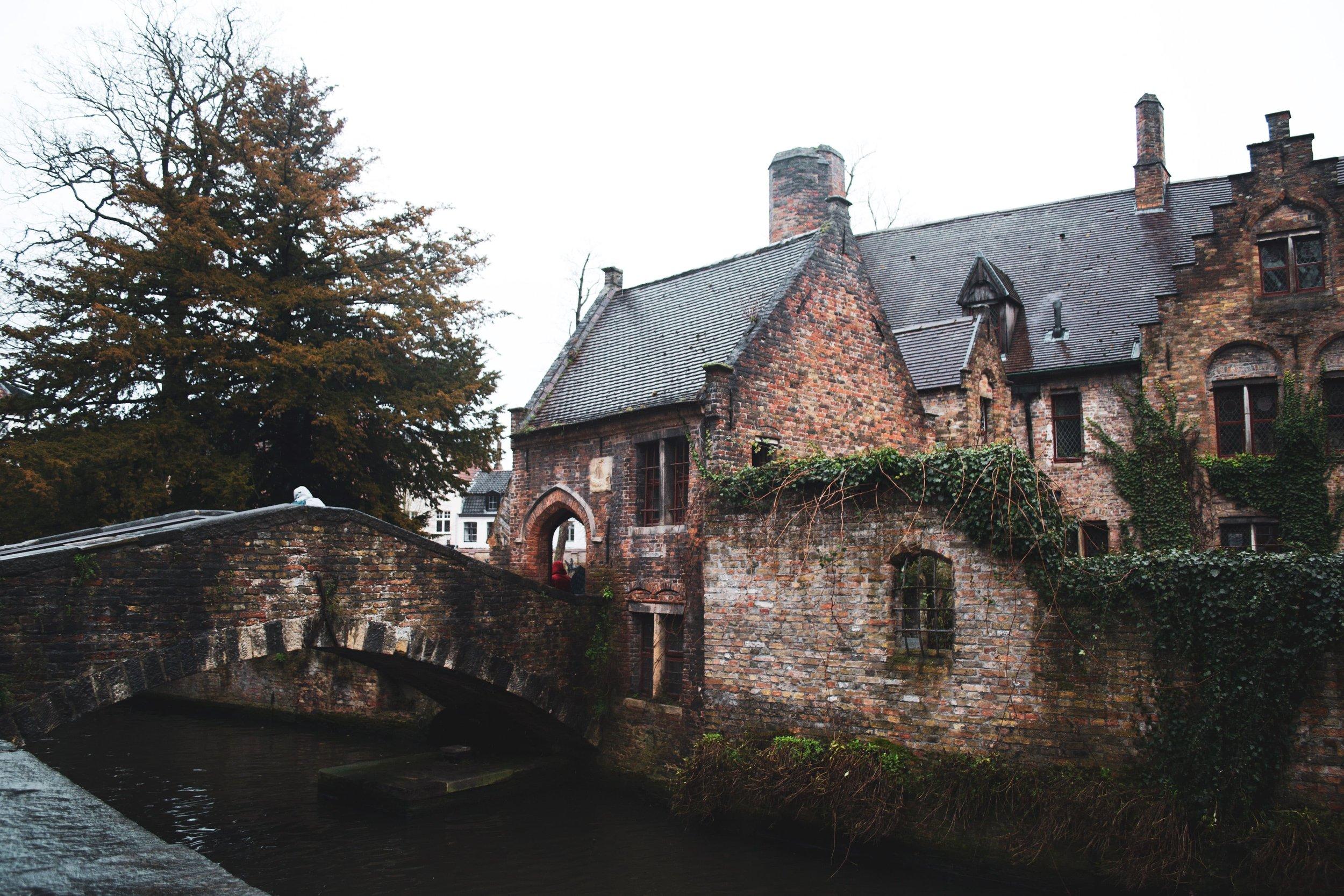 Bruges, Belgium Bridge