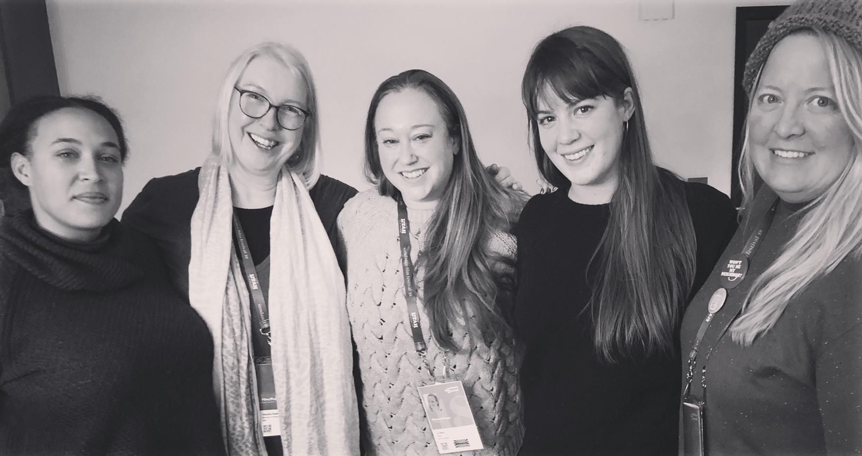 NoFilmSchool.com Podcast  -  Liz Nord    Sundance 2018 DP Roundtable discussion.