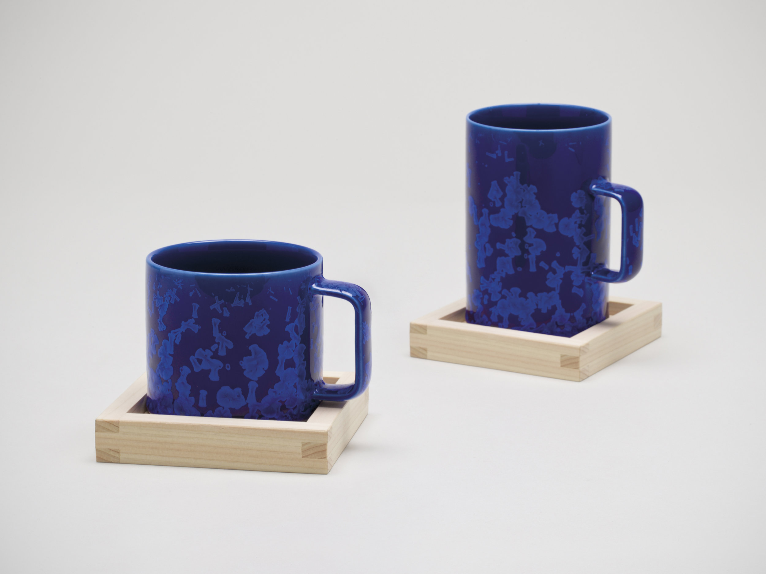 Crystalline Mugs by Jyusengama for the Sebastian Conran Gifu Collection