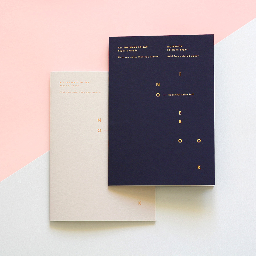 Notebooks by All The Ways To Say
