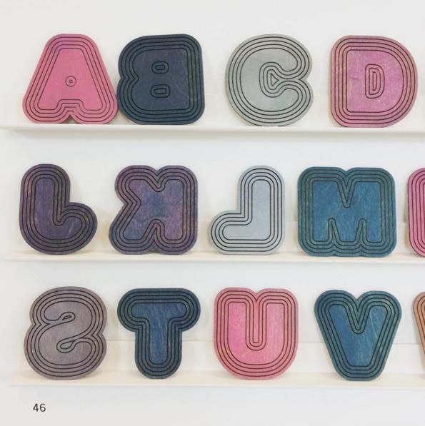 Letterpress font by Rose Walker