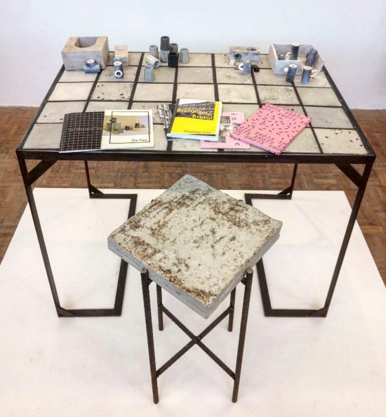 Barbara the utopian table and other works by Charlotte Gilks