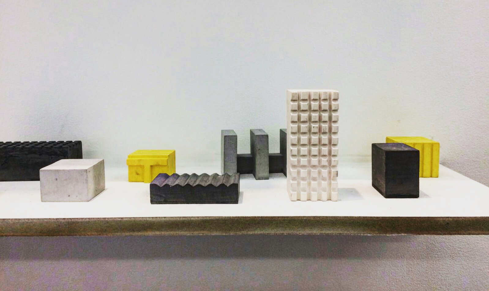 Brutalist objects by Jack Griffins