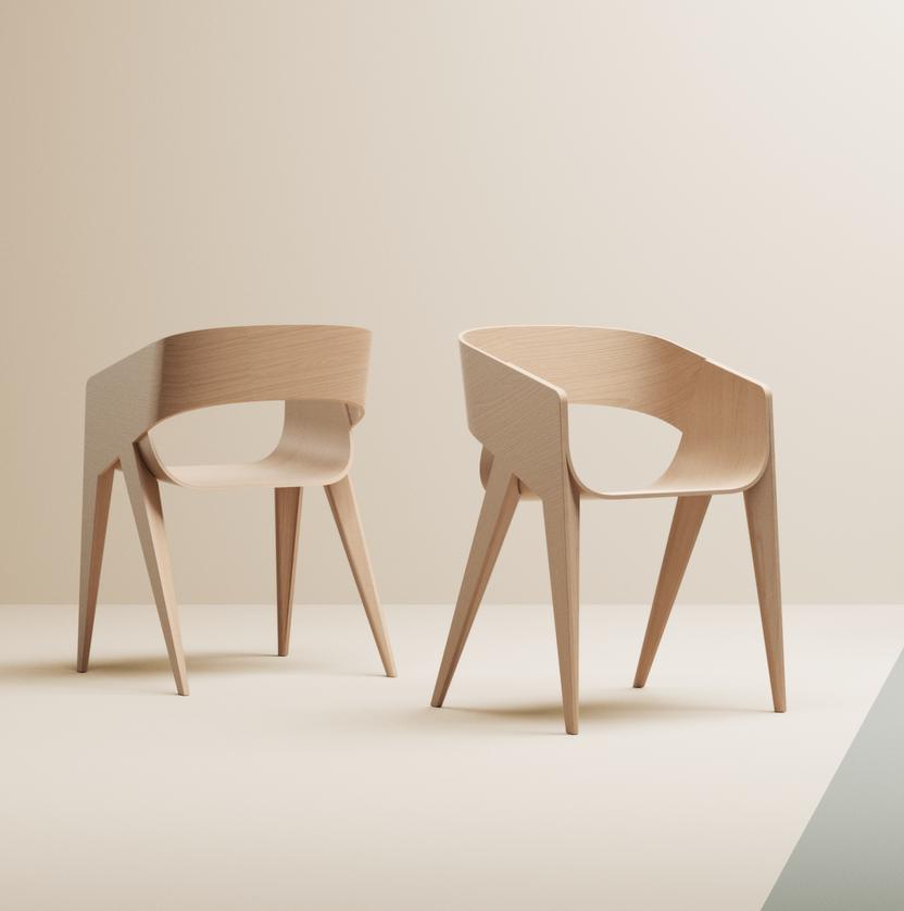 SLIM Chair by Marco Sousa Santos
