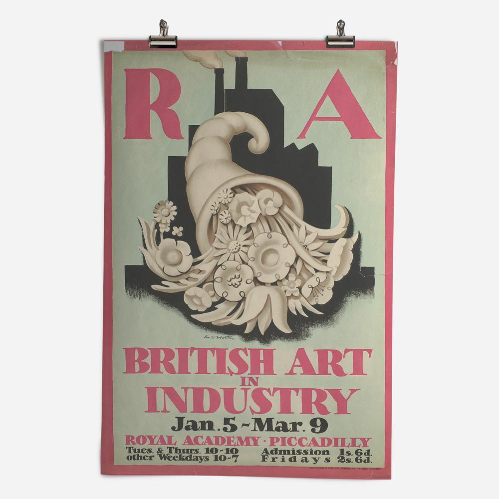 RA British Art in Industry Exhibition 1935