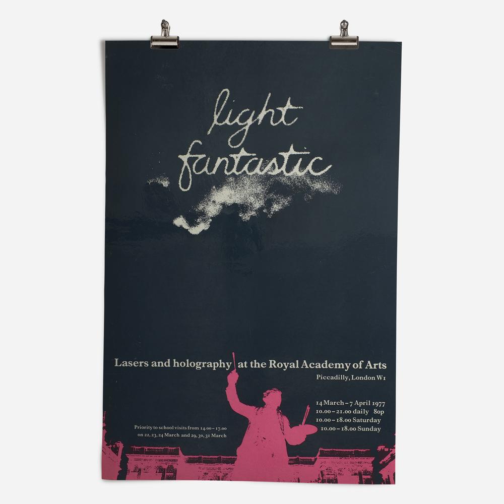 RA Light FantasticExhibition 1977
