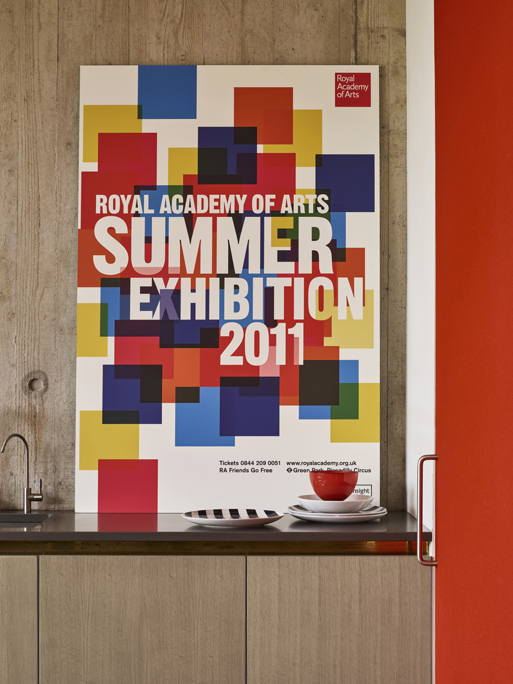 RA Summer Exhibition 2011 Epic Poster