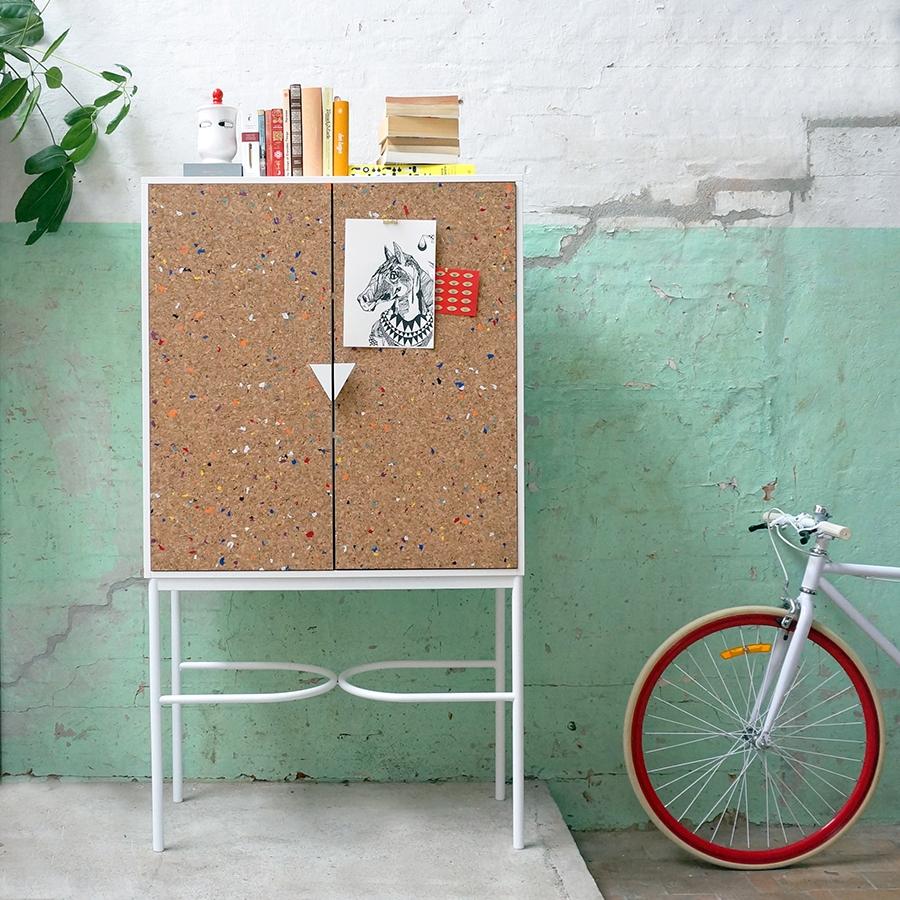 Notebook Cabinet by Swedish Ninja