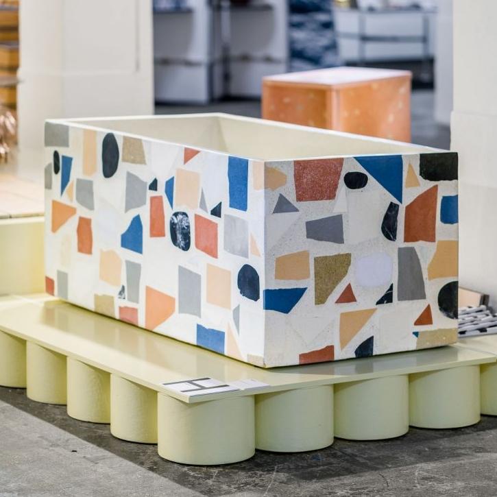 Terrazzo Bathtub by Huguet Mallorca at London Design Fair.jpg