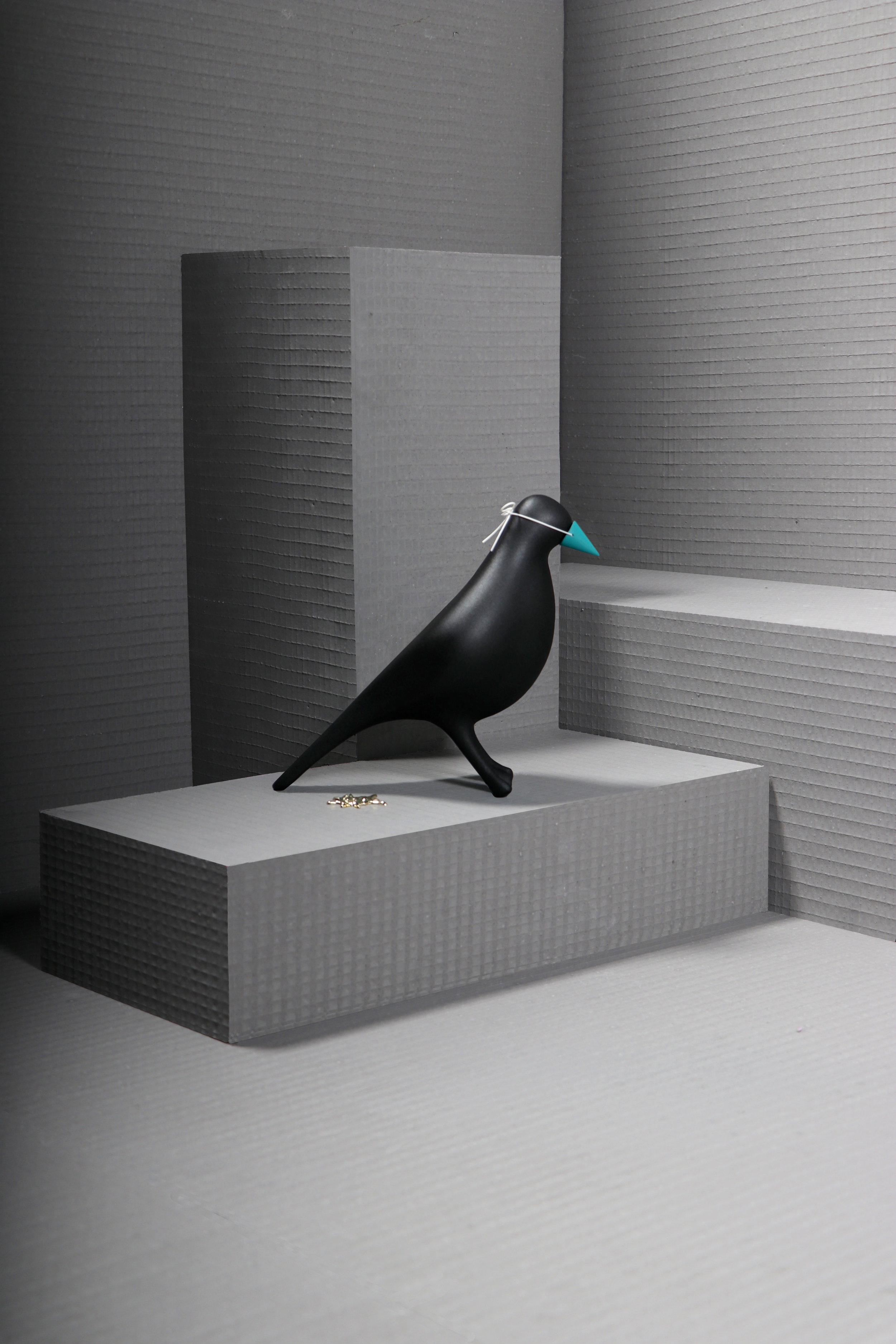May Wild Studio_coo plume black_at London Design Fair.jpg