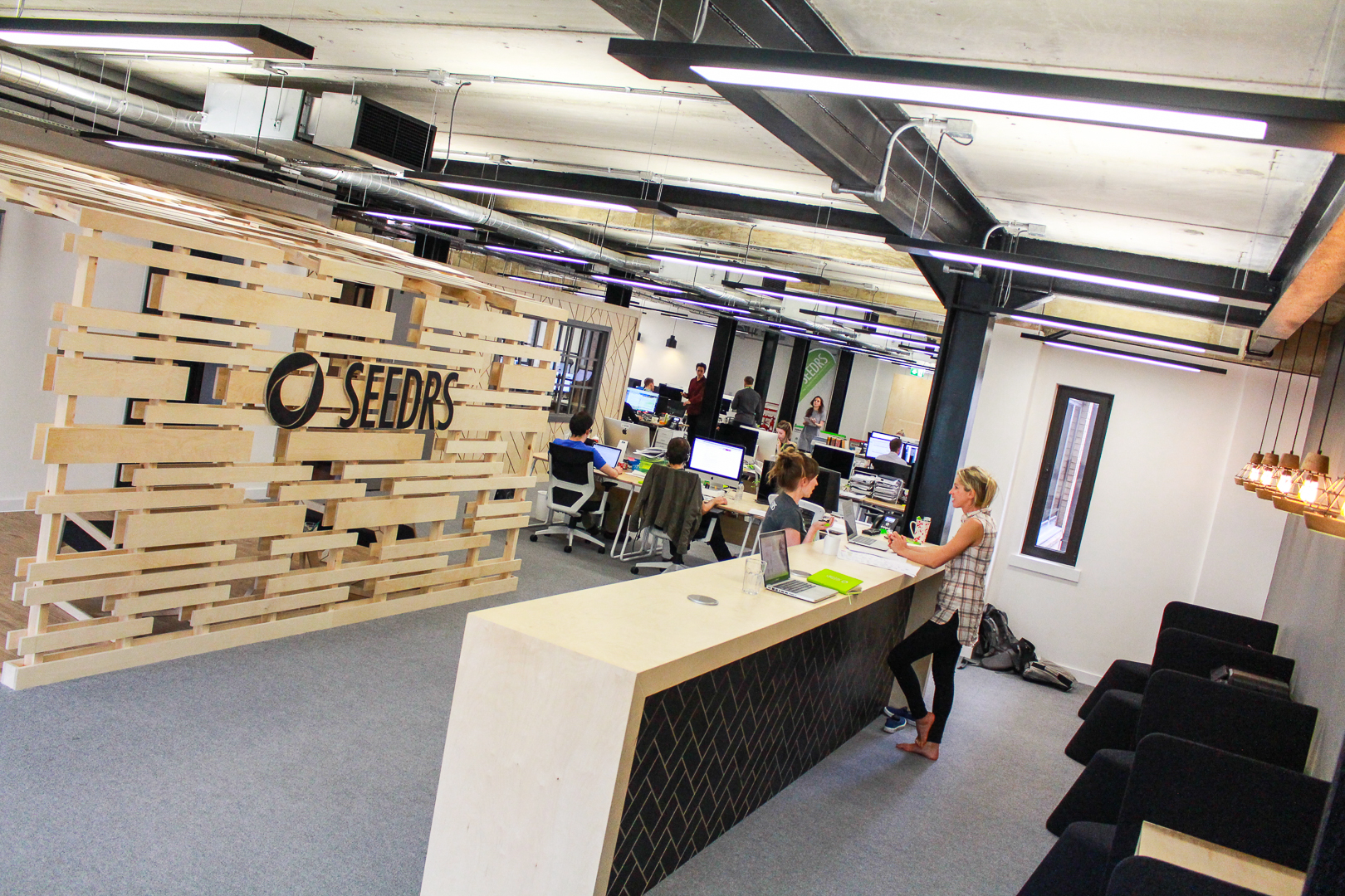 Seedrs Interior by Liqui Group