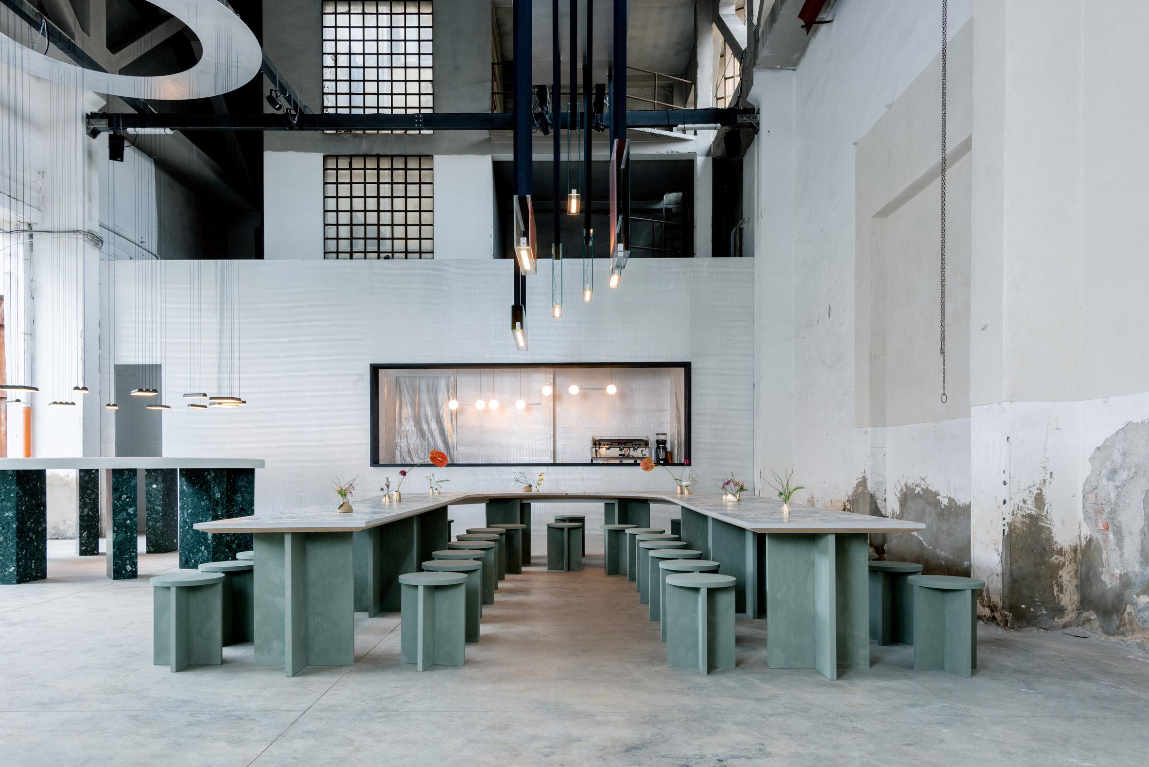 Caffè Populaire by Lambert & Fils x DWA Design Studio