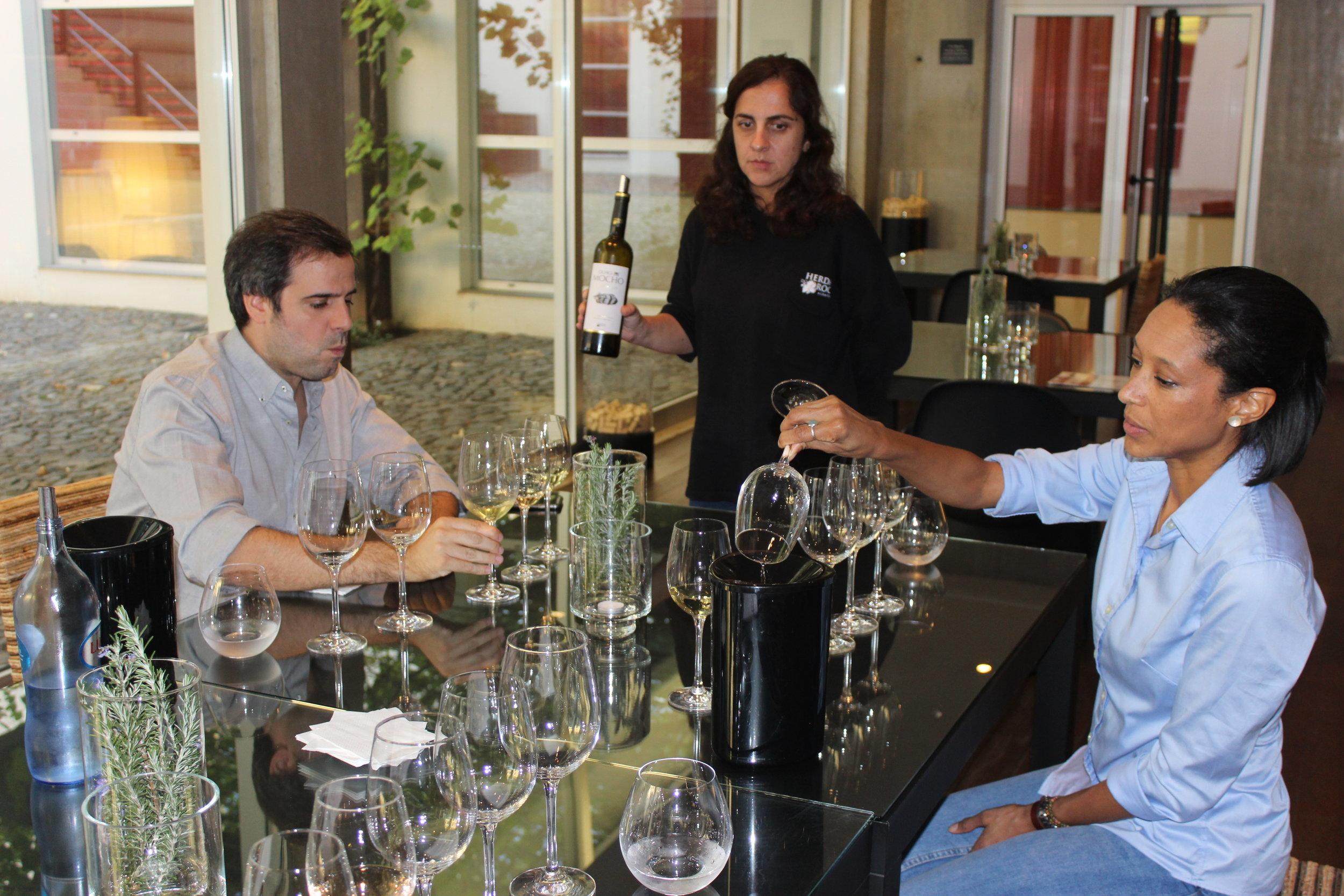 gen. manager & winemaker pedro ribeiro of herdade do rocim