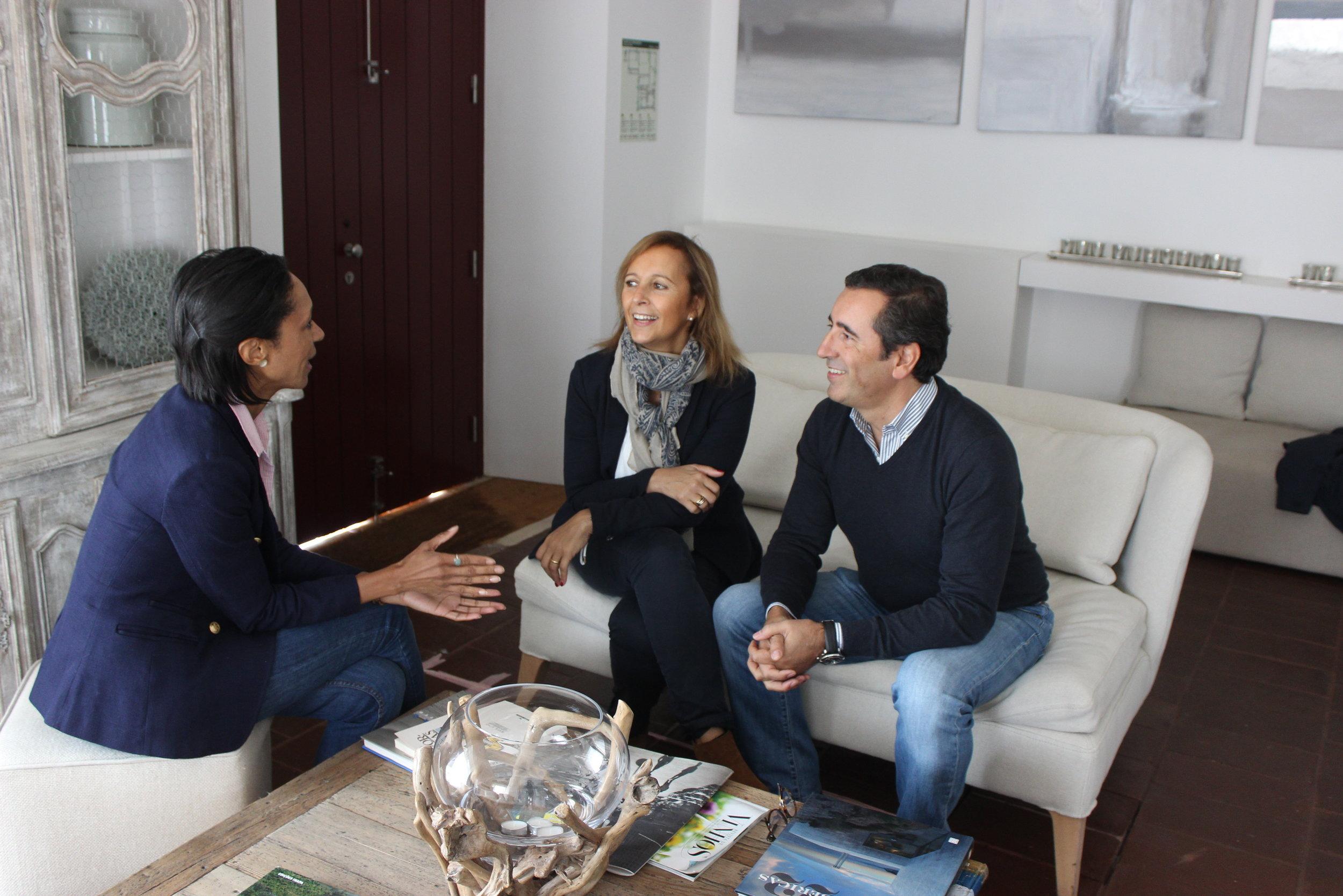 drs. pedro & Ana rebelo of herdade torre de palma boutique hotel