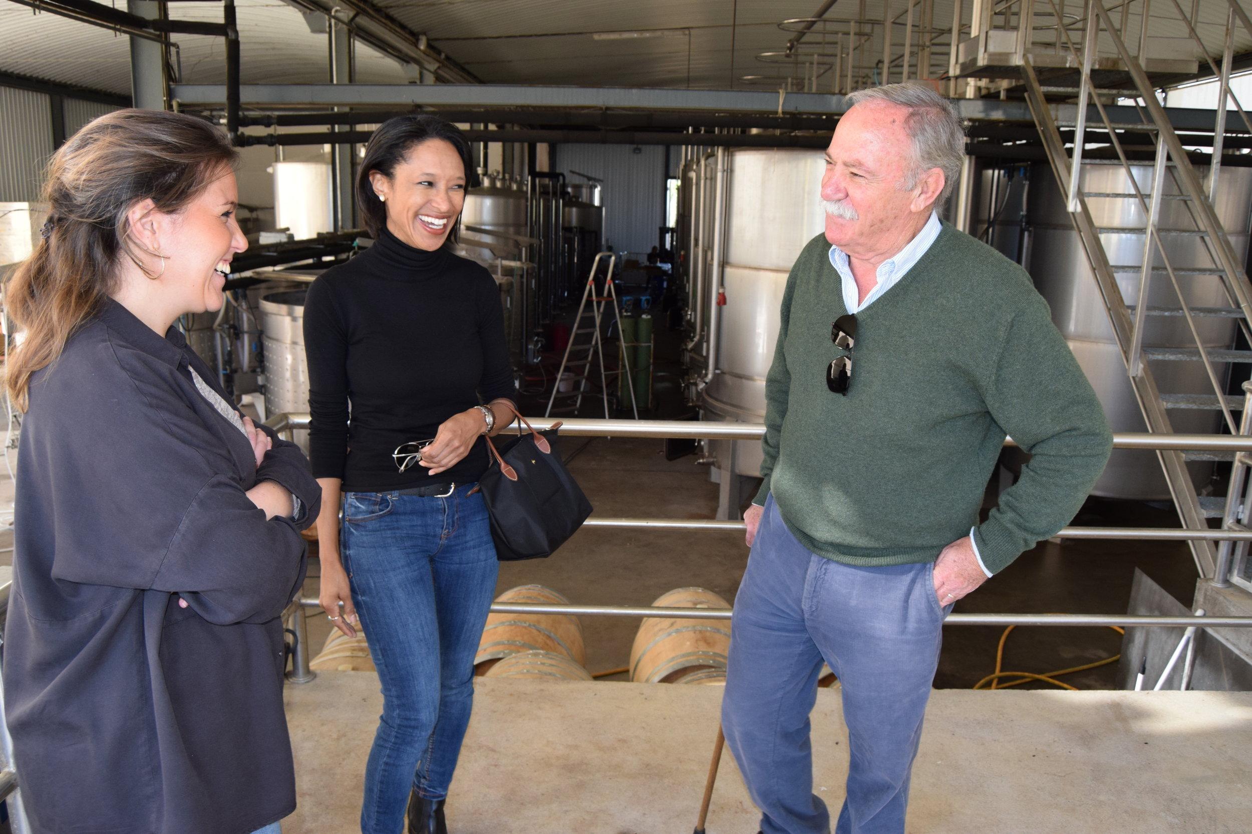 winemakers mariana lança & father, antonio manuel lança of herdade grande