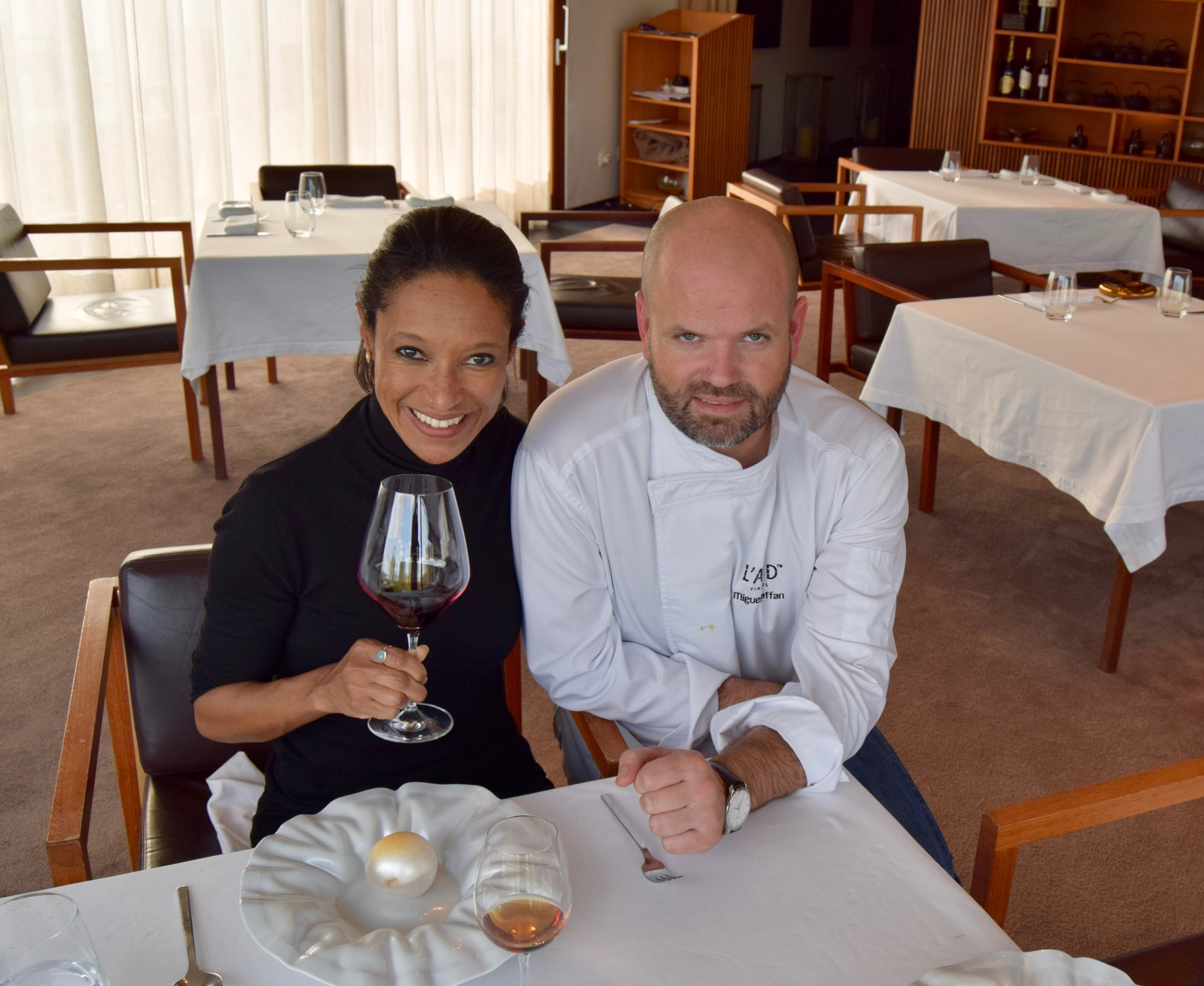 executive Chef miguel Laffan of l'and vineyards resort