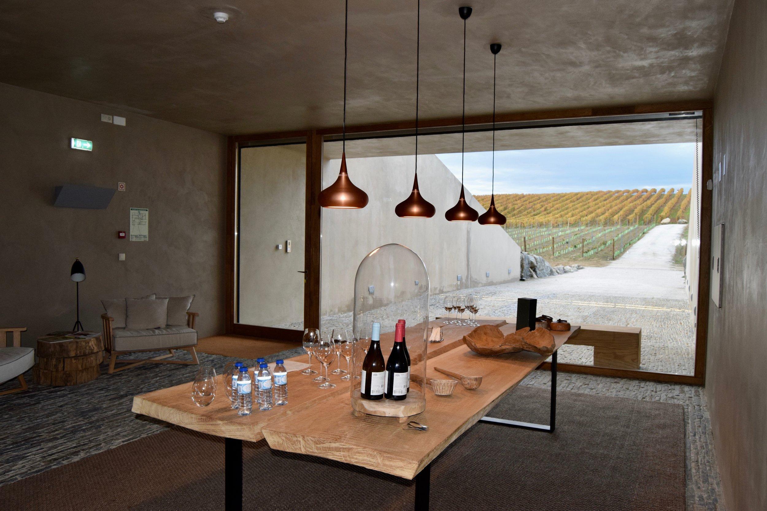 herdade de freixo, first underground winery in europe (40 meters/131 feet)