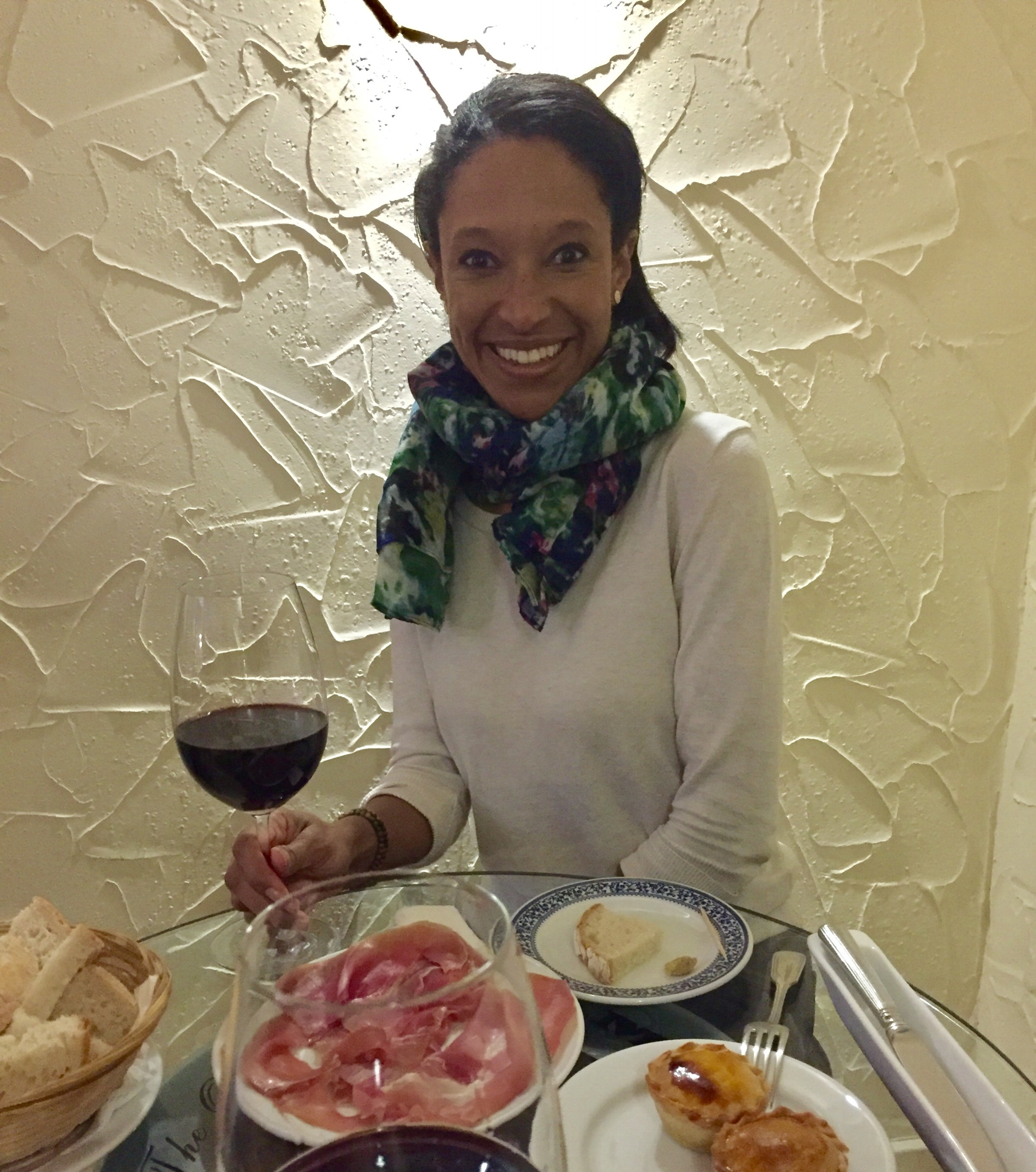 sheree mitchell en The Old Pharmacy Wine Bar en Lisboa